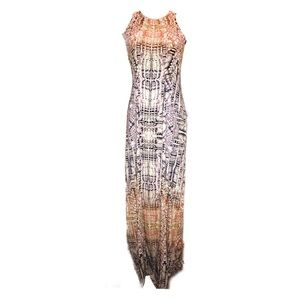 3/$20 Tart Snakeprint Razorback Maxi Dress